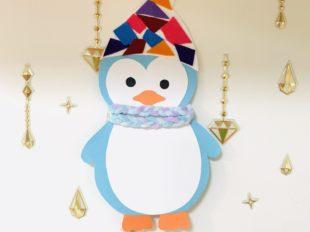 ペンギンの壁飾り